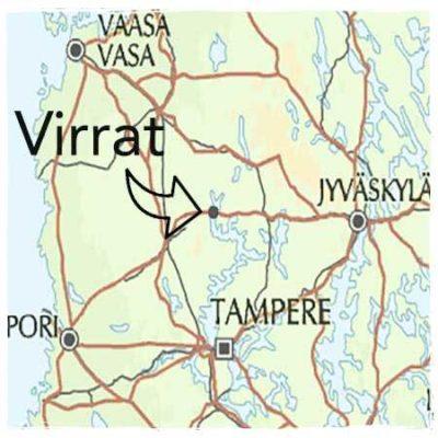 Map to Virrat